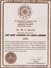Best Citizen of India Award